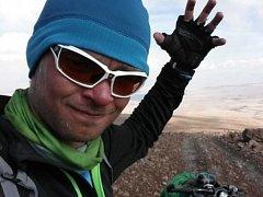 Cesta je holé neštěstí, což se dalo čekat od nepoužívané bolivijské silnice.