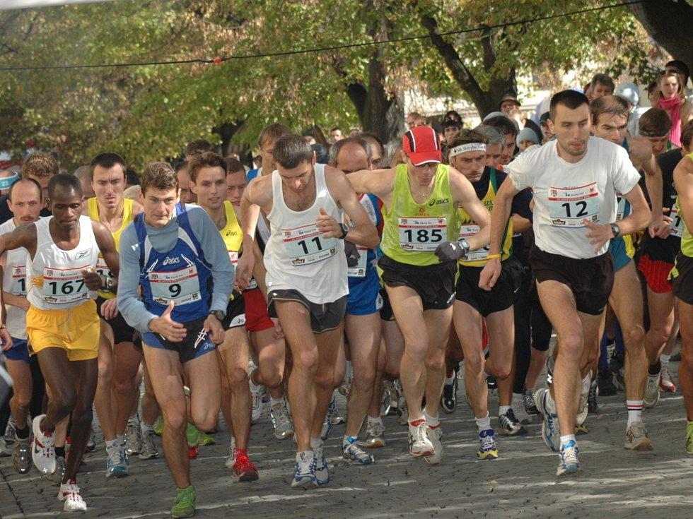 Profesionální i amatérští běžci se sešli na Slováckém běhu v Uh. Hradišti.