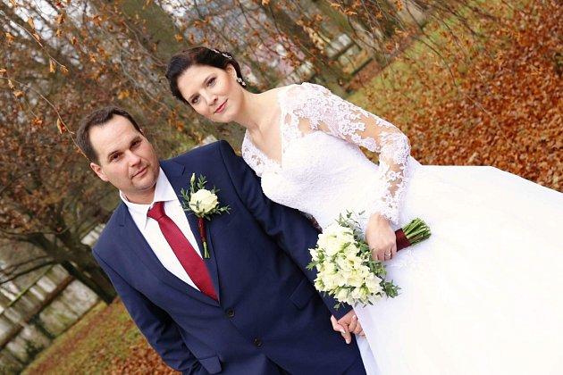 Soutěžní svatební pár číslo 187 - Lenka a Pavel Kocurkovi, Halenkov