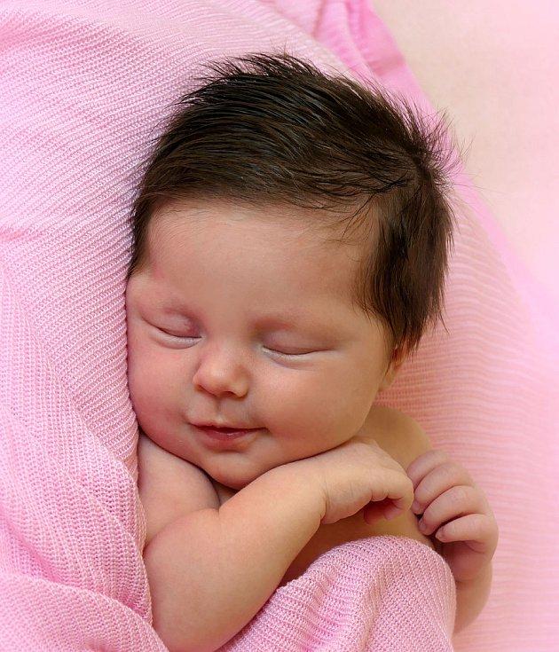 Rozálie Kamočaiová, Březolupy, narozena  27. července 2021 v Uherském Hradišti, míra 50 cm, váha 3590 g