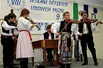 Dětská cimbálová muzika Liša.