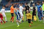 1. FC Slovácko - FC Slovan Liberec (v modrém)