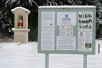 Jedna ze čtrnácti kapliček je nedaleko velehradské baziliky.