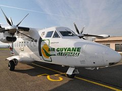 Z Aircraft Industries, a.s. vypravili další čtyřistadesítku. Letoun L 410 UVP-E20 s výrobním označením 2734. Ilustrační foto.