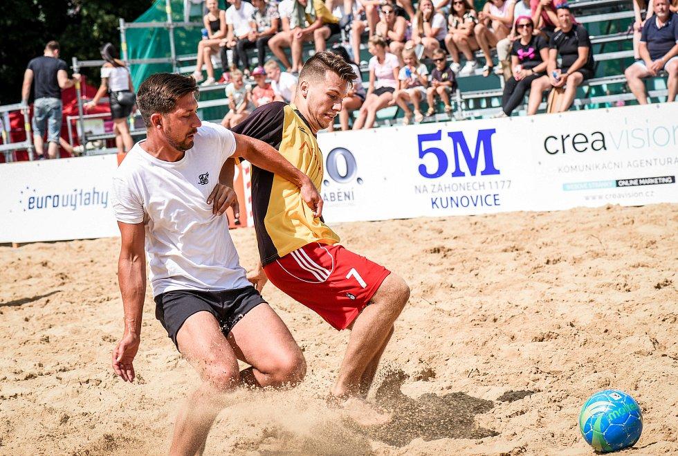 Slovácké léto 2021. Plážový fotbal