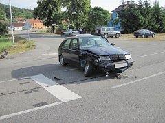 Křižovatka s častými dopravními nehodami u Veletin. Ilustrační foto.
