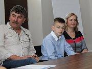 Svoji první tiskovou konferenci o jízdě králů v Kunovicích si odbyl i letošní král Adam Škrášek.