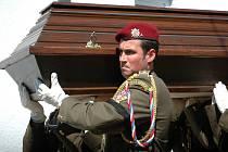 Pohřeb Radima Vaculíka, který položil život 30. dubna 2008 v Afganistánu.