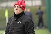 Trenér Miroslav Hlahůlek vede muže Polešovic i dorost Slovácka.
