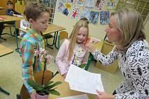 Své první vysvědčení si ve čtvrtek 28. ledna převzalo také 61 žáků prvních tříd na Základní škole UNESCO v Uherském Hradišti.