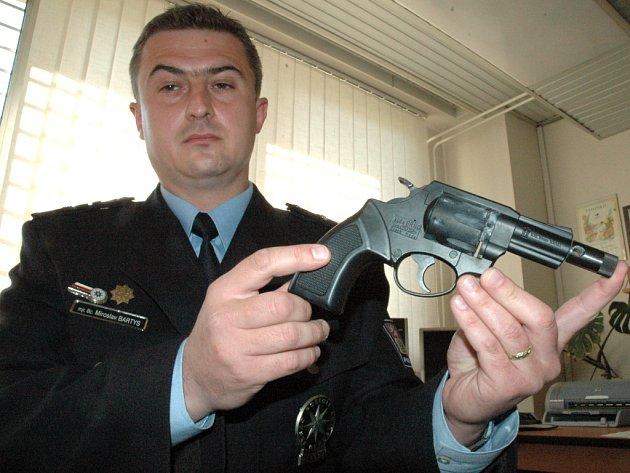 Šéf kriminalistů okresního policejního ředitelství v Uherském Hradišti Miroslav Bartys.