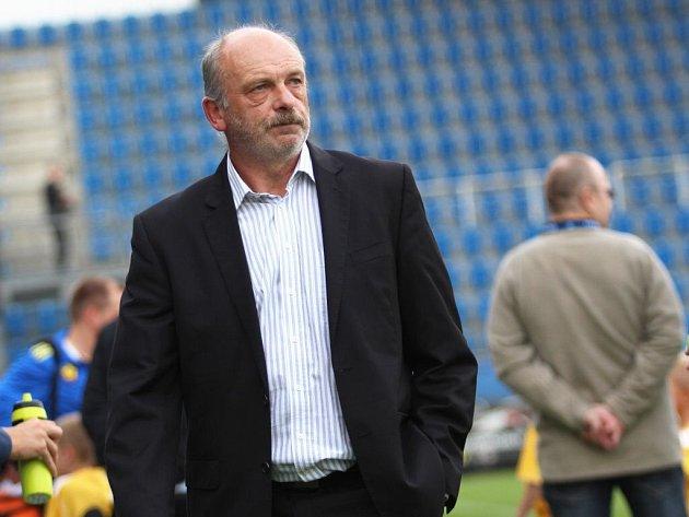 Trenér 1. FC Slovácko Stanislav Levý.