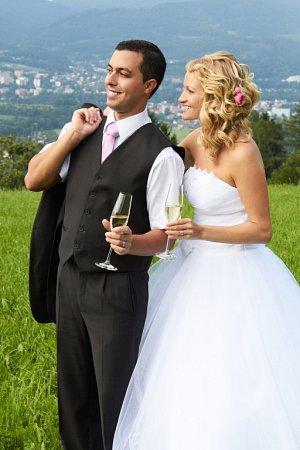 Soutěžní svatební pár číslo 211 - Kristýna a Fabio Pavlíčkovi, Zubří.