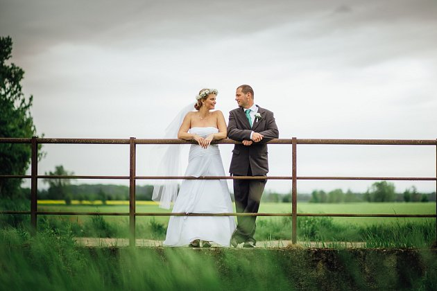 Soutěžní svatební pár číslo 23 - Zuzana a Jan Peřinovi, Šternberk