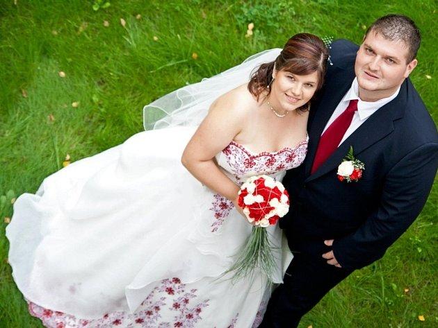 Soutěžní svatební pár číslo 72 - Hana a Ondřej Dostálovi, Olomouc.