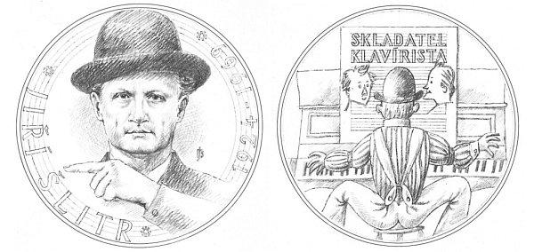 Jedna zBejvlových prací bude věnovaná památce legendárního Jiřího Šlitra.