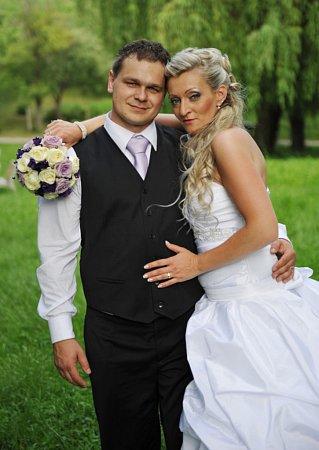 Soutěžní svatební pár číslo 22 - Petra a Marcel Machalovi, Kunovice