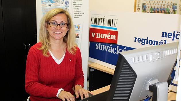 Lídr kandidátky TOP 09 ve Zlínském kraji Kristýna Zelienková.