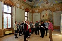 Jednou z hlavních aktivit projektu obnovy kláštera byl odkryv a následné restaurování výzdoby tzv. Jezuitské kaple.