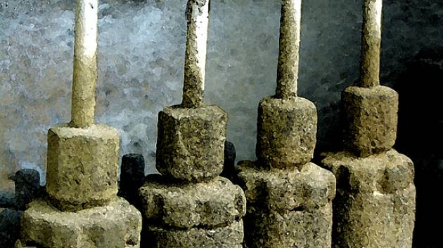 Jeden ze snímků Bezděčkovy výstavy.
