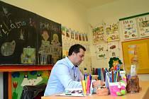 Česká televize natáčela v základní škole v Březové jeden z dílů pořadu Děti na tahu.
