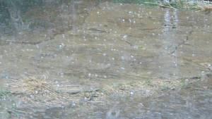 Bouřky a krupobití zasáhly jižní Čechy