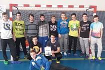Mladší dorostenci Slovácké Slavie Uherské Hradiště obsadili na turnaji O Horecký balón 2016 druhé místo.