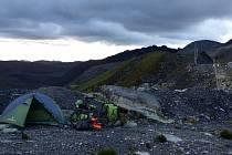 Mirek Šlegl šlape v Equadoru.