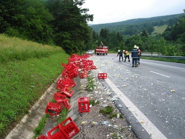 Nehoda u Starého Hrozenkova.