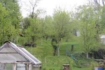 Jednou z lokalit, kde obec rozprodává parcely, je Mrtvá ulička v Šumicích.