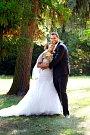 Soutěžní svatební pár číslo 1 - Petra a Marian Daniškovi, Cholina