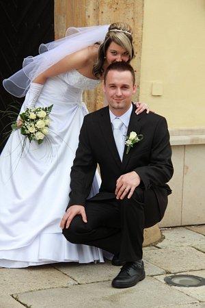 Soutěžní svatební pár 91 - Barbora a Tomáš Durďákovi, Hanušovice.