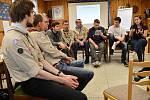 Setkání skautů vUherském Hradišti. Ilustrační foto