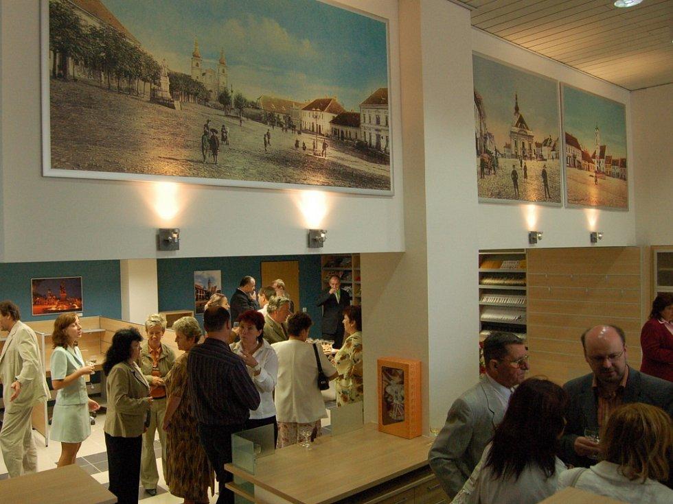 Infocentrum sídlí v moderních prostorách boční části brodského Domu kultury. Ilustrační foto.