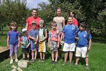 Tři příměstské tábory připravilo pro děti dětské studio Bambino Buchlovice.