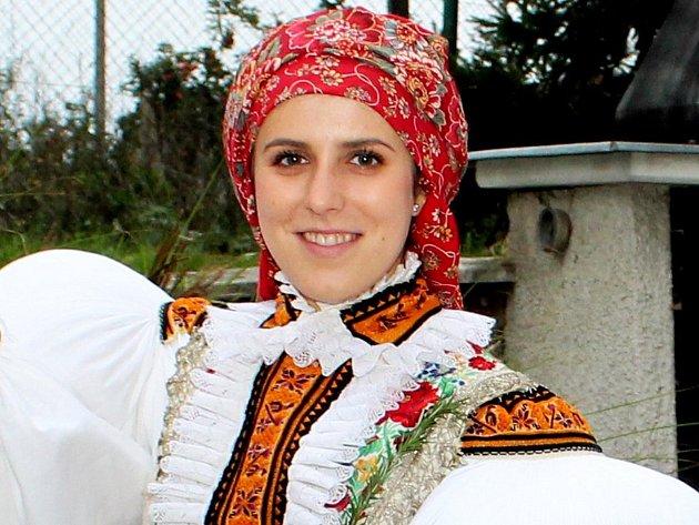 Nedakonická starší stárka Nikola Šnajdrová.