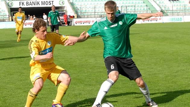 Do 1. FC Slovácko má nakročeno Stanislav Hofmann z Mostu.