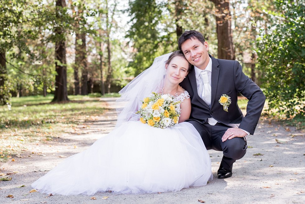 Soutěžní svatební pár číslo 141 - Veronika a Tomáš Kučerovi, Kroměříž
