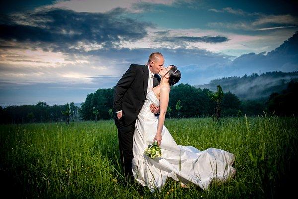 Soutěžní svatební pár číslo 19 - Kamila a Miroslav Lysákovi, Bojkovice