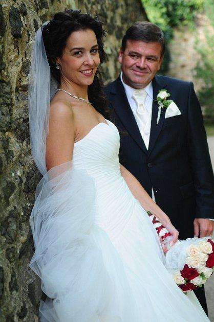 Soutěžní svatební pár číslo 295 - Barbora a Petr Martínkovi, Olomouc.