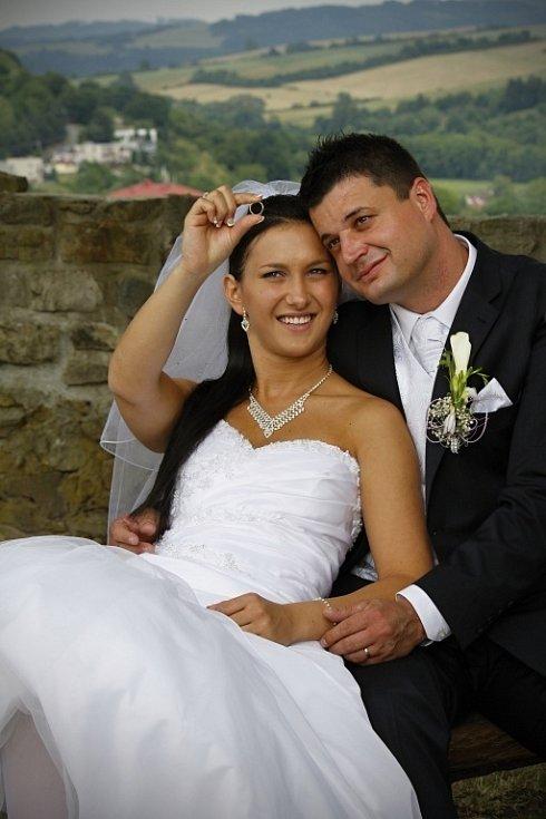 Soutěžní svatební pár číslo 30 – Klára a Pavel Drábikovi, Vlachovice.