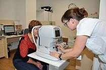 Světový den zraku v nemocnici v Uherském Hradišti