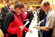 O titul šampion usilovalo v Polešovicích 214 vystavovatelů vín