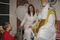 . Sedmiletý Zbyněk Bílka z Velehradu se nebeských poslů nic nebál.