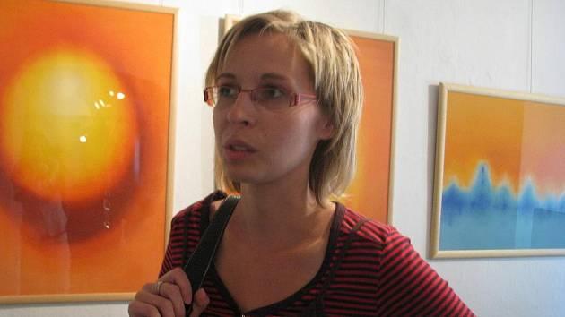 Dagmar Kubišová vystavuje v těchto dnech v brodském Muzeu Jana Amose Komenského.