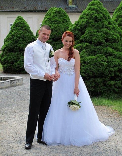 Soutěžní svatební pár číslo 67 - Ivona a Richard Trébalovi, Olomouc.