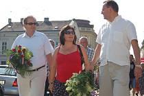Výročí se zúčastnili také zástupci hradišťské radnice