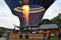 Křest největšího vzdušného balónu v České republice; Břestek úterý 30. června 2015.