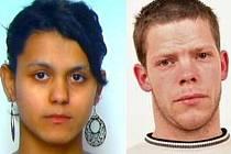 V souvislosti se spácháním loupeže vyhlásili policisté celostátní pátrání po mladém muži a ženě (na snímku).
