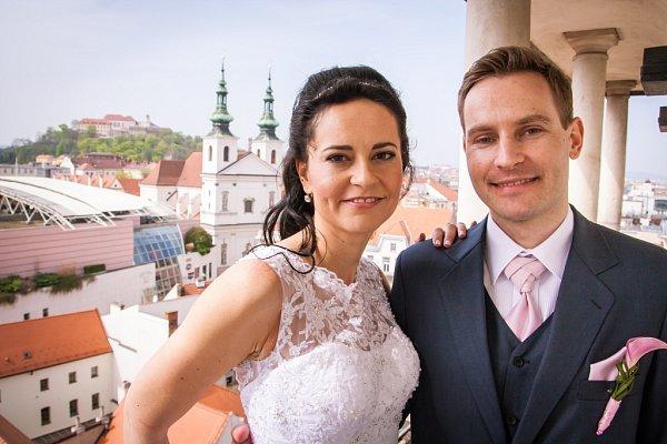 Soutěžní svatební pár číslo 140 - Markéta a Pavel Řezáčovi, Brno